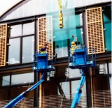 Glass Curtain Wall Installation 9
