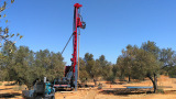 RC4 Water Well Drilling Rig in Tunisia