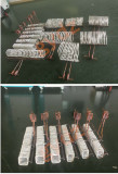 Steel Bilet,Pipe Induction Heater Coil Design with various shape