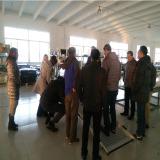 USA customer visit OBOYA plant on 6th Dec 2016