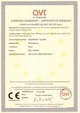 Europpean Community-Certificate Adequacy Metal detector