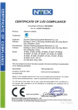 CE-LVD HOUSEHOLD ULTRASONIC CLEANER