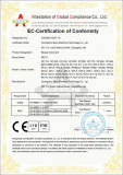 Our CE of RF beauty machine certification