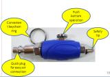 Mini Air Blow Gun with Safety Tip (DIY/Light Trade)(ABG-17)