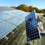 10KW solar power system with sunpower cell solar panel
