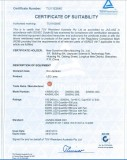 SAA Certificate