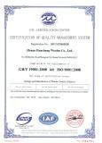 ISO Certificate of Woolen Textile