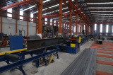 Step4 of Steel Structure Processing Technical Flow-Straighting