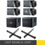 Active VRX SERIES Line Array Speaker