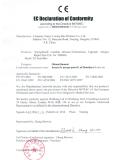 CE declaration of conformity for candida/trichomonas combo