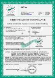 CE certificate of three phase alternator