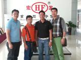 Philippines clients visiting Hongfa