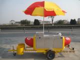 Popcorn/Hot Dog/Coffee Fast Food Cart