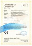 CE EMC certifiacte