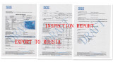 SGS INSPECTION REPORT for PASSPORT COVER 250.000PCS