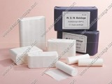 White Open Woven Bandage