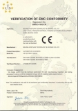 charge CE Certificate