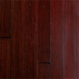 Wine Brushed Strand Woven Bamboo Flooring