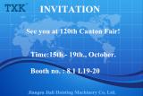 120TH CANTON FAIR 15th - 19th Oct. 2016