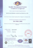 Certificates for sale and assembly of trivison and light box equipment
