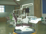 Dental chair show room