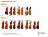 Middle-Advanced D,bass color chart