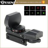 Hunting 1x22x33 Multi Reticle Electro R&G DOT Sight Rifle Scope