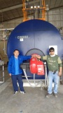 boiler service in Saudi for 6 ton/hr steam boiler