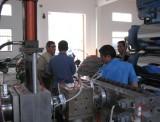 PVC Sheet Extruder Machine--Turkey