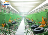 radial truck tyre producing