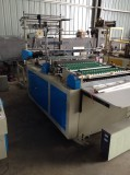 Computer Control Double Layers Continuous Wind Rolls Bag Making Machine