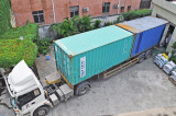 Shipment-loading container