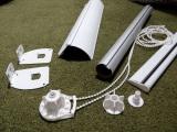Zebra blinds rails and components set