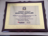 Audited supplier SGS