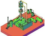 10Ton engine oil refining distillaiton machinery