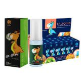 Healthy E-Liquid with Various Cigarette Flavors