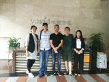 David from Malaysia visited our factory