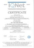 ISO 14001:2004 standard certificates