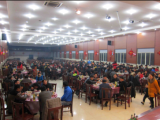 2014 All colleagues in Huawei have the New Year Dinner together