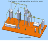 10TPD Motor Oil distillation refining plant