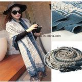 Printed OEM Custom Design Wool Scarf