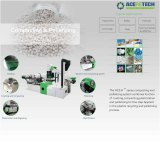 High Quality Plastic Recycling Pelletizing Machine