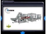 Production line for high viscosity products (Bulk bottle unscrabmler machine, filling machine)