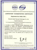R&D-National Laboratory Accreditation Certificate