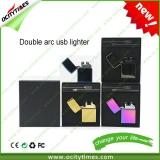 Double ARC cigarette lighter