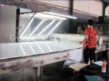 The product (Crystallized Glass) cutting