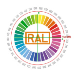 RAL Color Standard for PPGI/PPGL (Prepainted Galvanized Steel Coil)