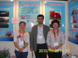 Vietnamese customer visit our Martime Expo booth