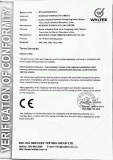 ROHS certificate of Bluetooth VR