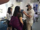 Customer in the Die Casting Fair